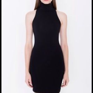 American Apparel Turtleneck Bodycon Dress